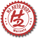 H2 Auto body repair warranty